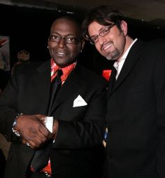 Randy Jackson Wearing a Gevril 6209NV Glamour Watch and Gevril's Steven Jay