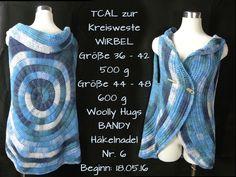 Kreisweste WIRBEL -  Woolly Hugs BANDY Veronika Hug