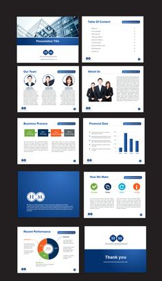 Create a fantastic Powerpoint template for a technology services company by Sumaiya
