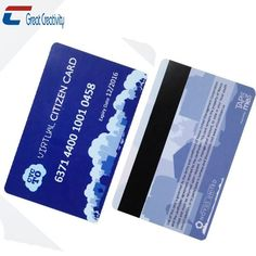 LoCo Magnetic Stripe PVC CR80 Cards - High Quality - Brand New