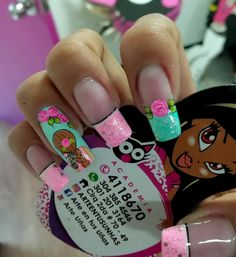 Ombre Nail Designs, Diy Nail Designs, Nail Saloon, Different Nail Designs, Nail Decorations, Nail Trends, Nail Arts, Manicure And Pedicure, Diy Nails