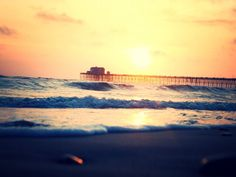 Oceanside sunsets.