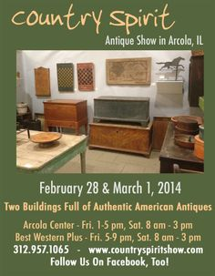 Country Spirit Antique Show - Home Page