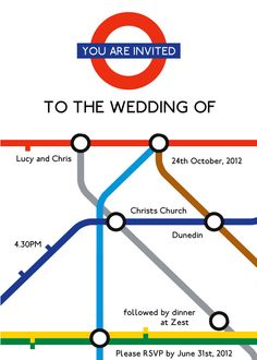 Items similar to London Underground wedding invitation graphic template on Etsy London Theme Parties, London Party, Wedding Music, Wedding Paper, Wedding Cards, British Party, British Wedding, Orange Party, Travel Party