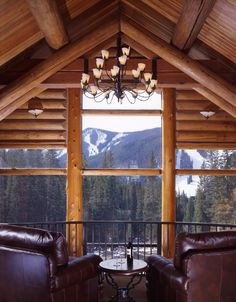 I will have a cabin in the mountains one day.