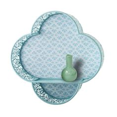 Sure, most clovers are green, but a blue one? It's good luck. Hang this decorative shelf on your wall for a unique twist.  Find the Four Leaf Clover Wall Shelf, as seen in the Storage Clearance Collection at http://dotandbo.com/collections/end-of-summer-sale-storage-clearance?utm_source=pinterest&utm_medium=organic&db_sku=92471