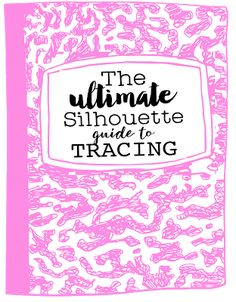 Want to learn to trace in Silhouette Studio like a pro?! The Ultimate Silhouette Guide to Tracing is 25 pages of instruction on getting the perfect trace on photos, multi color designs and images and hard to trace designs. The special edition ebook is exclusively available to Silhouette U members