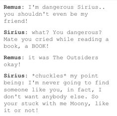 I have this here simply because I relate too much. The Outsiders is such a sad book!