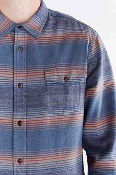 Katin Saddle Flannel Button-Down Shirt Men's Casual Wardrobe, Casual Shirts For Men, Men Casual, Printed Shirts, Linen Shirts, Denim Shirts, Picnic Outfits, Check Shirt Man, Outfit Combinations