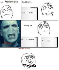 voldemort - I think it actually means flight from death which would also make a lot of sense