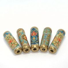 Paper Beads Moroccan by GillianMcMurray on Etsy