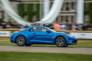 Alpine A110 - new official video of 247bhp Porsche Cayman rival New sports car weighs in at 1080kg and its power-to-weight eclipses that of the Cayman; launch editions almost sold out  Alpine has released a new official video of its A110 sports car during durability testing shown below. It follows the car's dynamic debut at the Goodwood Festival of Speed last weekend.  Due on British roads next year the car has been engineered to have a better power-to-weight ratio than its most accomplished…