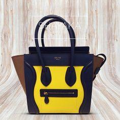 celine bag beige - C��line Small Tie Bag | Grey \u0026amp; Navy Blue | Stamped Crocodile Nubuck ...