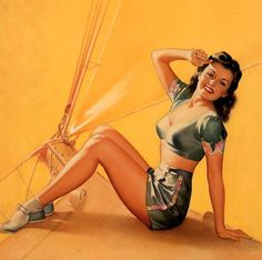 Pearl Frush: Pin Up and Cartoon Girls