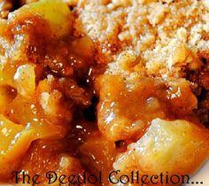 Granny's Apple Cobbler fb