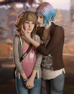 life is strange, max caulfield, chloe price Life Is Strange Wallpaper, Life Is Strange Fanart, Life Is Strange 3, Yuri, Dontnod Entertainment, Arcadia Bay, Grunge, Chloe Price, Max And Chloe