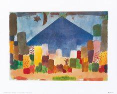 Afbeelding Paul Klee - Notte egiziana