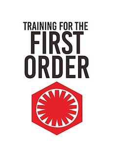 Training For The First Order Funny Star Wars