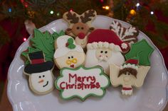 Christmas Cookies www.smoresweets.com