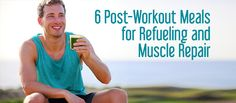 Replenish your body with #nutritious #post-workout #meals.