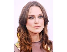 @byrdiebeauty - Keira Knightley   Hairstylist Ben Skervin gave Knightley tousled waves at the NYC premiere of her new movie, Begin Again, by using Vidal Sassoon Pro Series Boost & Lift Foaming Air Mousse ($6) on her damp strands. Then, he sprayed her hair with the line's Flexible Hold Hairspray ($4) and used a one-inch curling iron to curl sections of her hair, wrapping her hair down the iron.