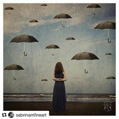 """#Repost @sabrinamfineart (@get_repost)  """"Umbrellas of illusion"""" (80x80cm 1/3) On show at Park Lane in Antwerp until 25 July  http://www.sabrina-m.be http://ift.tt/2igmoTl  If you want to #buy an #limited museum quality Glicee artprint or represent me in your gallery just mail me. #HahnemühleFineArt #art #photocollage #minimalist #popular #photooftheday #surreal #whimsical #surrealism #modernfairytale #fantasy #fineart #square #digitalart #digitalartist #sellart #artsale #collage #artist…"""