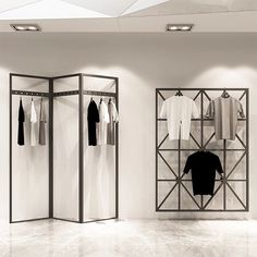 Clothing Store Stainless Steel Wall Display Racks Wholesale Fixtures For Sale - . Clothing Store Stainless Steel Wall Display Racks Wholesale Fixtures For Sale - Boutique Store Fixtures Manufacuring, Retail Shop Fitting Display Furniture Supply store Boutique Interior, Clothing Store Interior, Clothing Store Design, Boutique Design, Retail Store Design, Retail Shop, Clothing Displays, Clothing Racks, Boutique Clothing