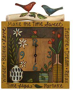 Sticks Wall Clock.