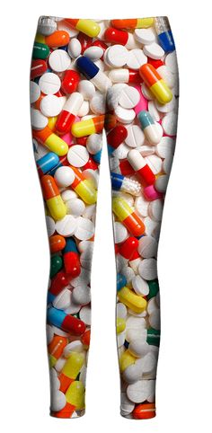 Pills Leggings. Maybe I'm taking this pharmacy thing abit too seriously