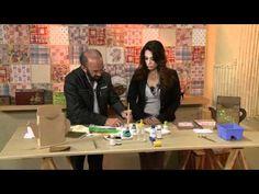 Vida Melhor - Artesanato: Porta coador de café (Carlos Saad) - YouTube