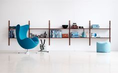 Royal System: writers desk, library and bookcase in one