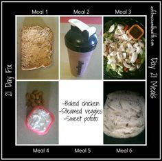 21 day fix day 21 meals Stay tuned tonight for my final results/thoughts vlog/blog post!