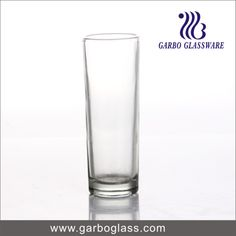 Small order zone-stock item transparent glass tumbler for drinking water with high quality
