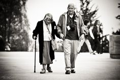 Cute old couples ♥. This is one of my goals in life.