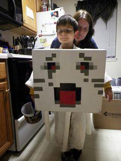 Cassie's Creative Crafts: Minecraft Ghast Halloween Costume