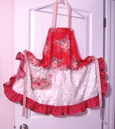 My own apron I made.