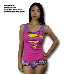Official sleepwear of #Supergirl! Not really, just really comfortable #womensapparel http://www.superherostuff.com/supergirl/camisole-and-panty-set/supergirl-pink-womens-cami-and-panty-set.html?itemcd=uwsupgpinkcampant