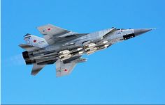 A well armed Russian Air Force Mig-31.