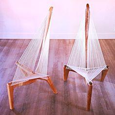 """The Lateen Chair,"" by furniture maker James Ruff. #lateenchair #modagogo #handmade #downtownslc #SaltLakeCity"