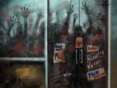 Zombie Store by jekowekow