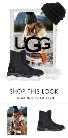 """The New Classics With UGG: Contest Entry"" by patricia-dimmick on Polyvore featuring UGG, Leith, Boots and ugg"