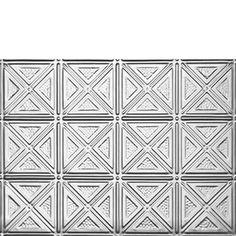 Dimensional Geometry - Aluminum Backsplash Tile - #0609