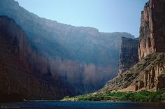 Grand Canyon View from the River by Laura A Knauth, via Flickr #JetsetterCurator
