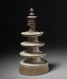 Miniature Pagoda [Japan] (1975.268.150ab) | Heilbrunn Timeline of Art History | The Metropolitan Museum of Art