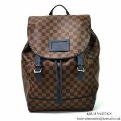 3a60b0c69ce4 Louis Vuitton N41377 Runner Backpack Damier Ebene Canvas
