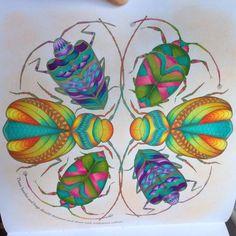 Millie Marotta Tropical Wonderland – Coloured by Justine Marie Gaboya-Uy