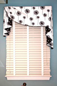 Custom Valance using Carole Fabric @Stephanie Close Close Close Close Grauer…