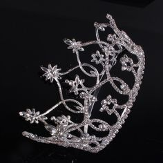 $35 Gogeous Wedding Bridal Large Circle Crystal Rhinestone Big Tiaras Crown quality big crown /wedding crown-in Hair Jewelry from Jewelry on Ali...