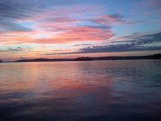 Muskoka Lake, Bracebridge Ontario. Completely perfect.