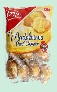 LOTUS 13 madeleines pur beurre 440gr